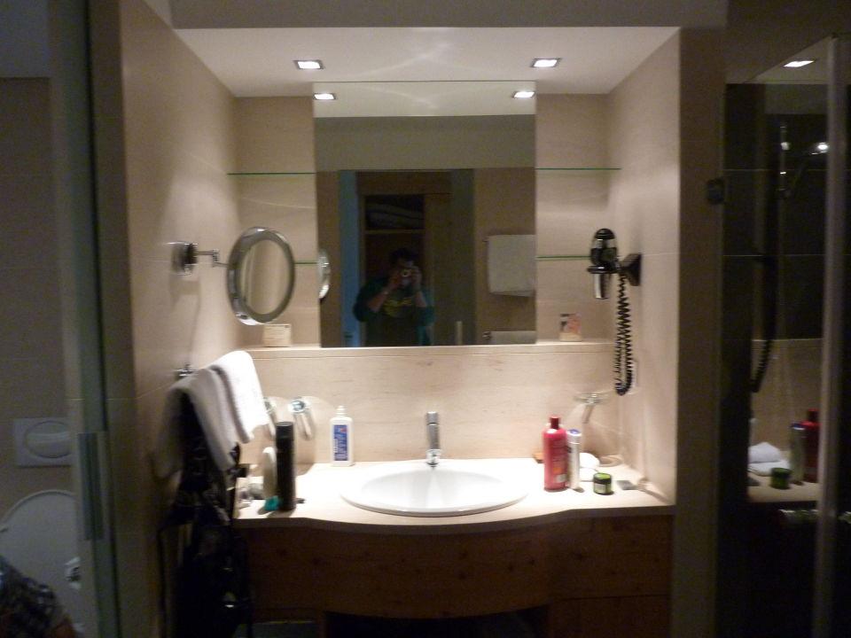 Grosser Badezimmerspiegel\