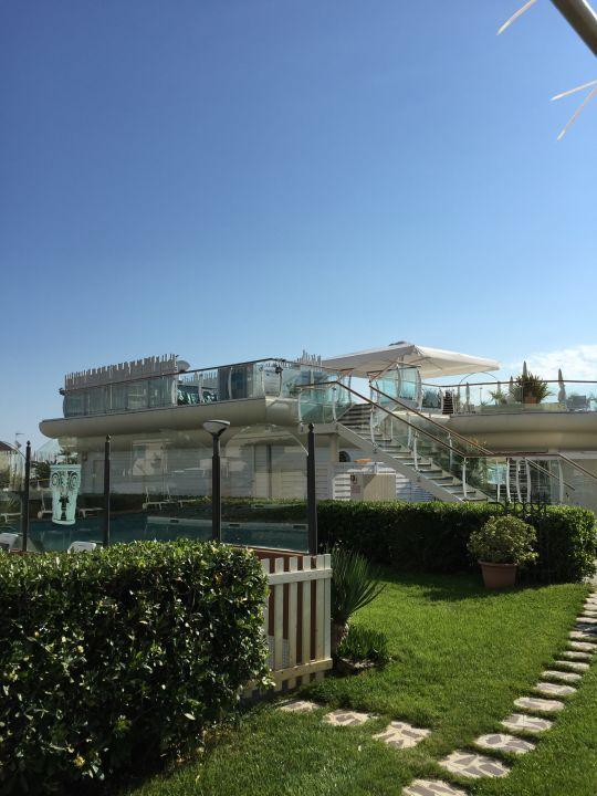 Gartenanlage Hotel Benini