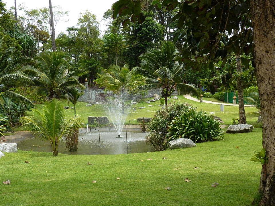 Gartenanlage Khao Lak Merlin Resort