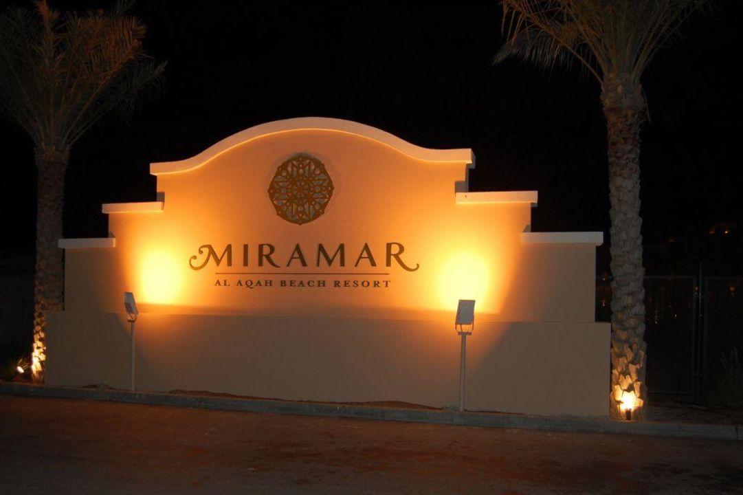 Visitenkarte Miramar Al Aqah Beach Resort
