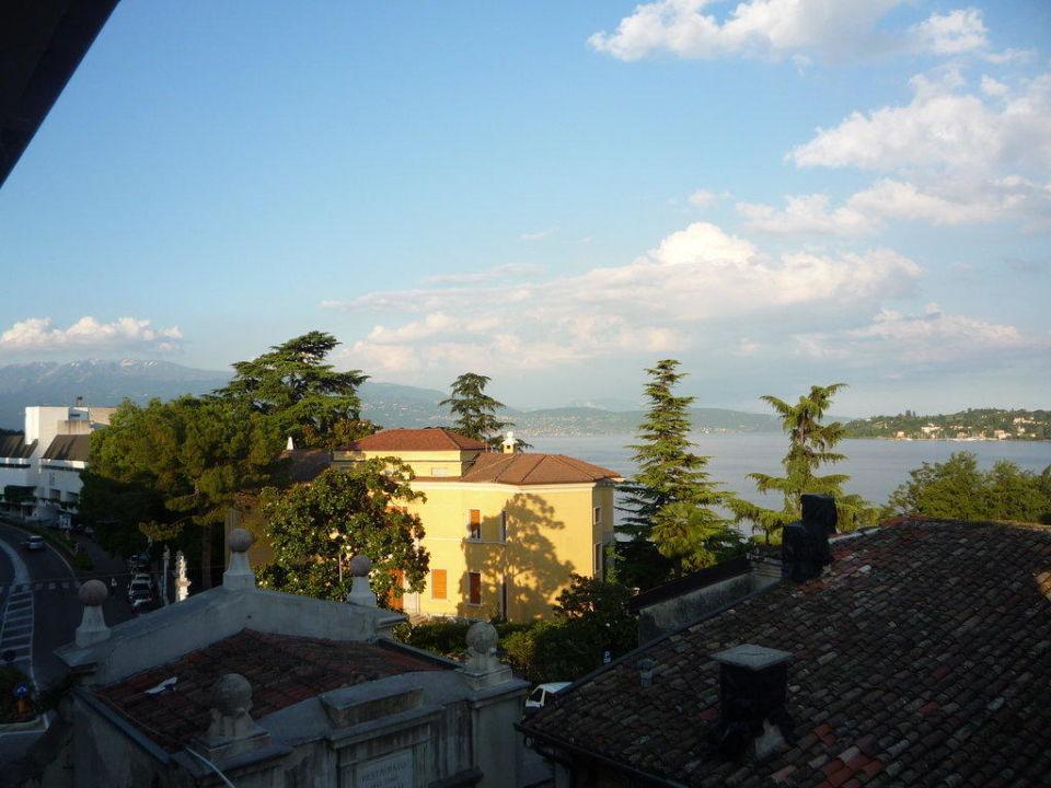 Blick vom Balkon unseres Zimmers Hotel Il Gambero