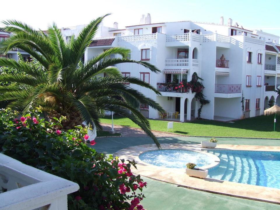 Widok z pokoju Hotel Playa Romana