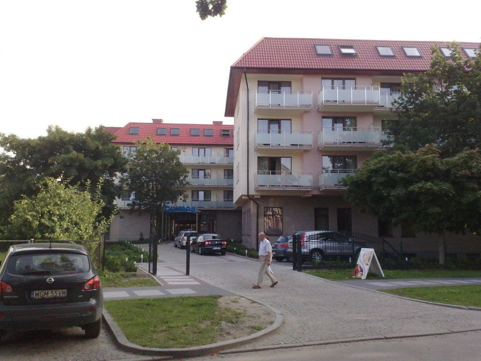 Haupteingang, Nordansicht Hotel Kurhaus Olymp II