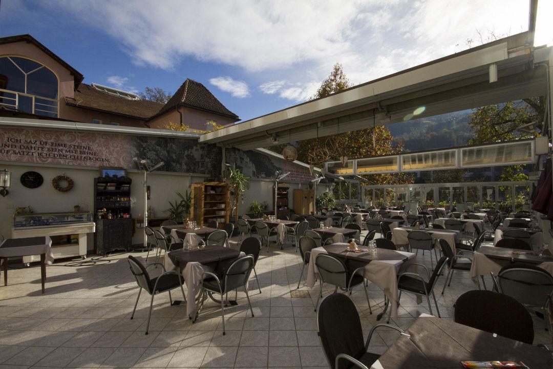 Terrasse Gasthof Walther von der Vogelweide