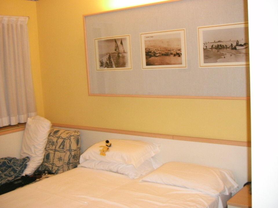 Schlafzimmer  Hotel Sport & Residenza