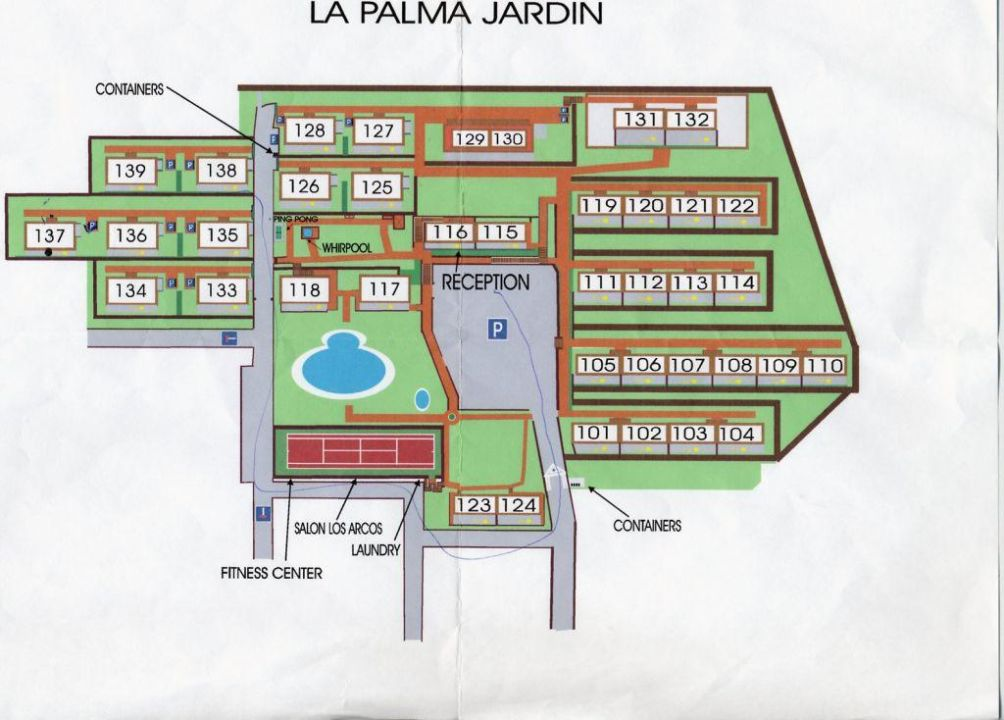 lageplan der h user hotel la palma jardin el paso holidaycheck la palma spanien. Black Bedroom Furniture Sets. Home Design Ideas