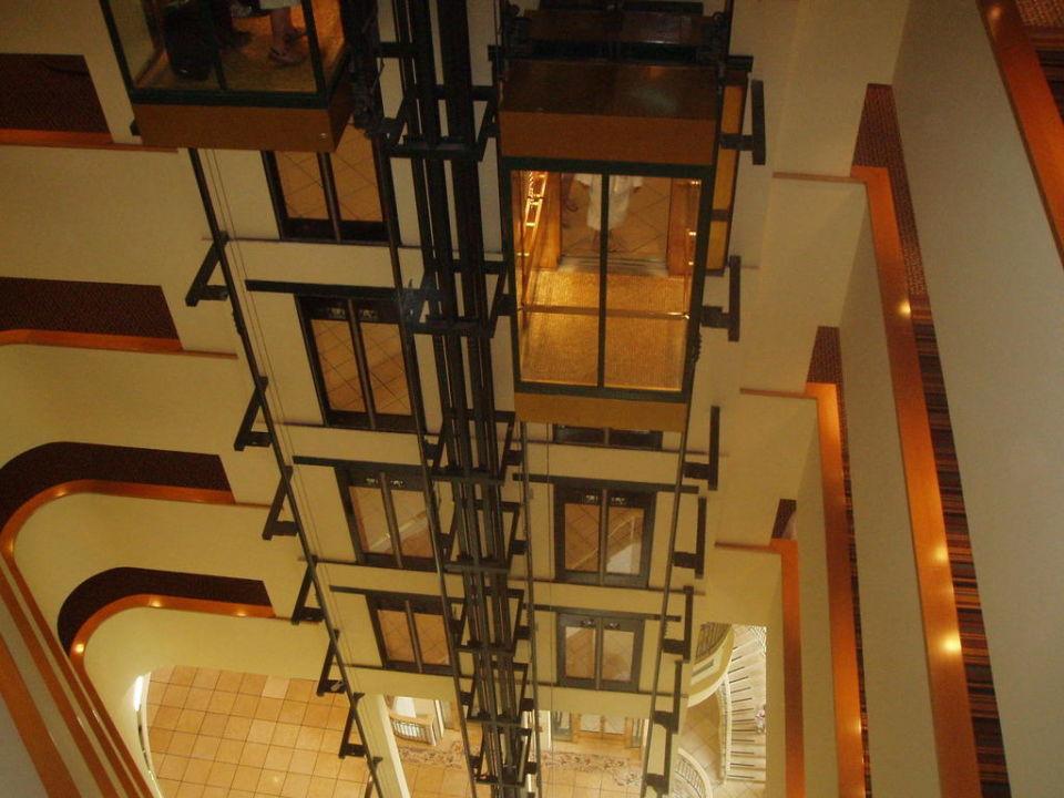 Glasaufzüge Hotel Daniel Dead Sea