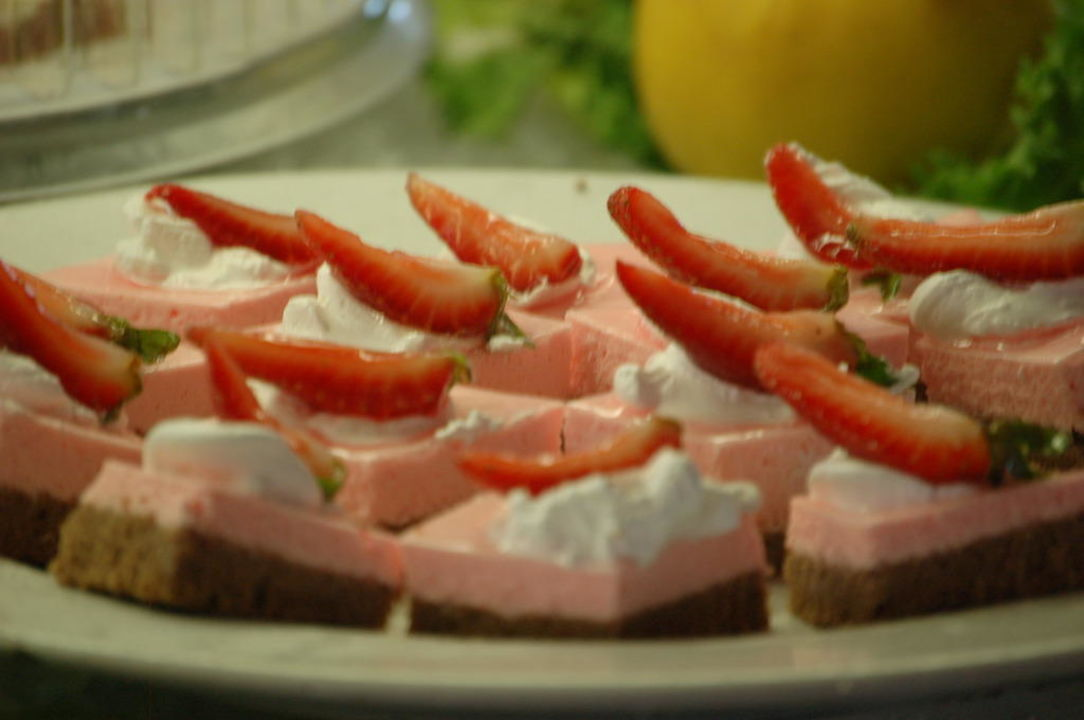 Dessert sehr lecker Sandos Playacar Beach Resort