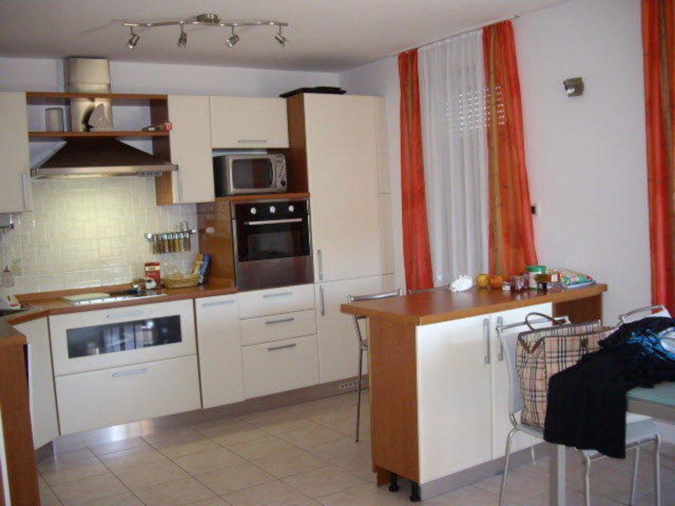 Küche mit Mikro, Geschirrspüler etc. Apartments Monterol