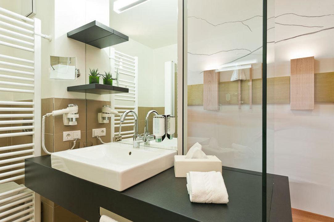 Hotelbadezimmer\