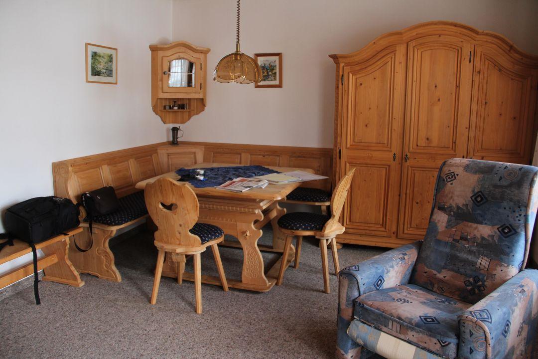 Wohnzimmer Eßecke Pension Vendel Pfronten Holidaycheck Bayern