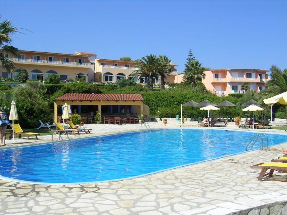 Pool hotel corfu mirabell in roda holidaycheck korfu for Garten pool korfu 1