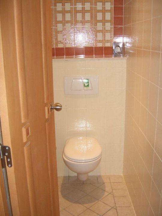 separates WC (nicht in jedem Zimmer so!) ansonsten leicht ab Hotel Club Valtur Tabarka