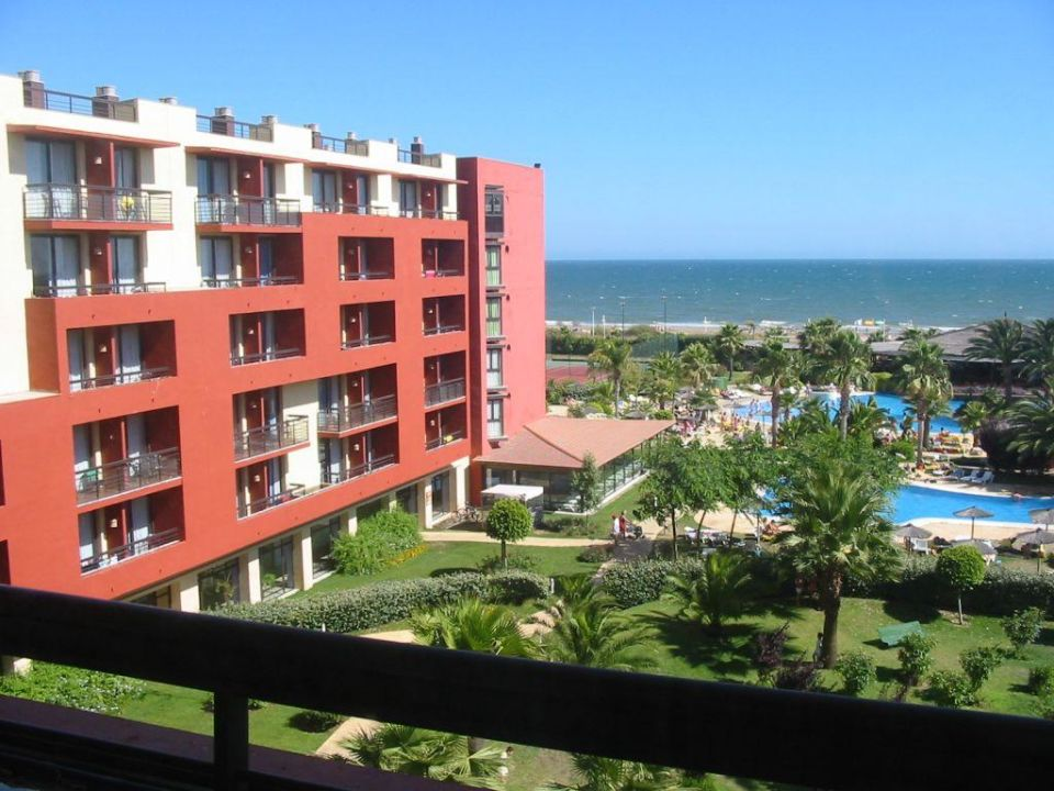 Vom Balkon aus in den Innenhof... TUI FAMILY LIFE Islantilla