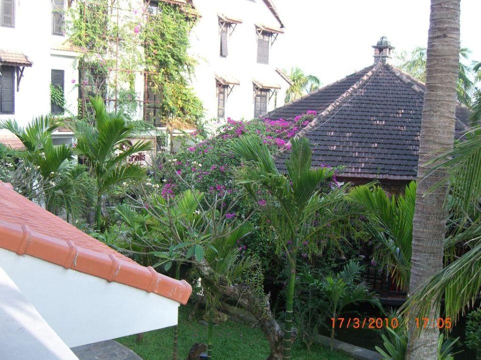 Blick vom Balkon Hoi An Trails Resort & Spa