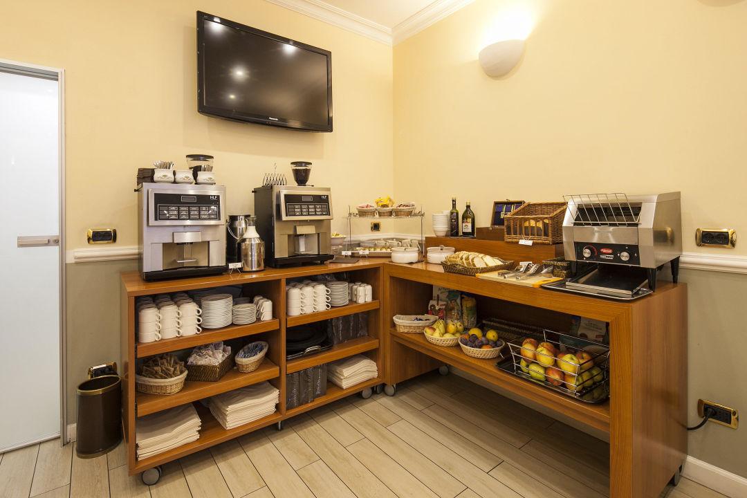Buffet sala colazioni Nuovo Hotel Del Porto