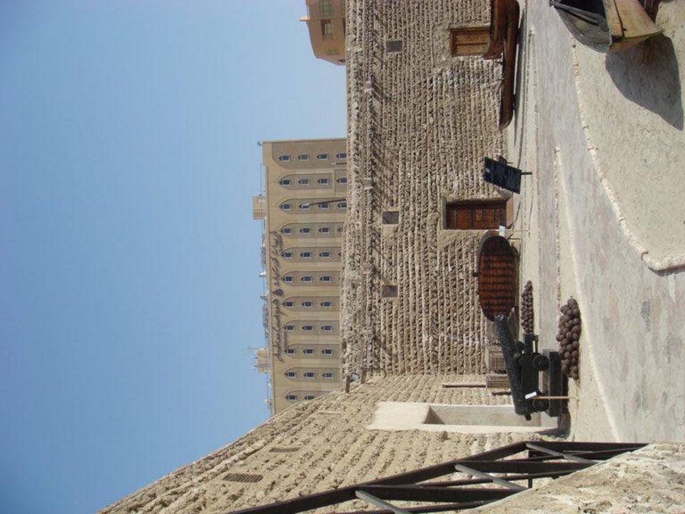 Aufnahme vom Museum aus Arabian Courtyard Hotel & Spa