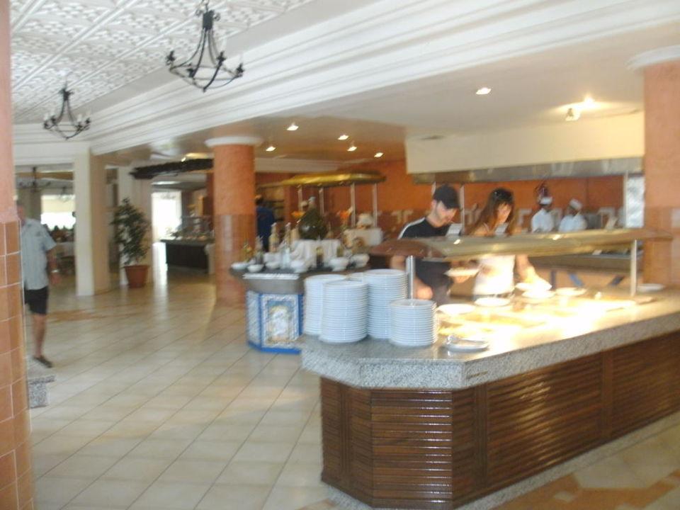 Buffetbereich Hotel Seabel Aladin Djerba
