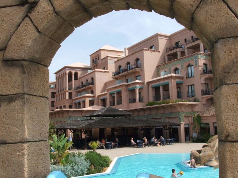 Hotel vom Pool aus Playacanela Hotel