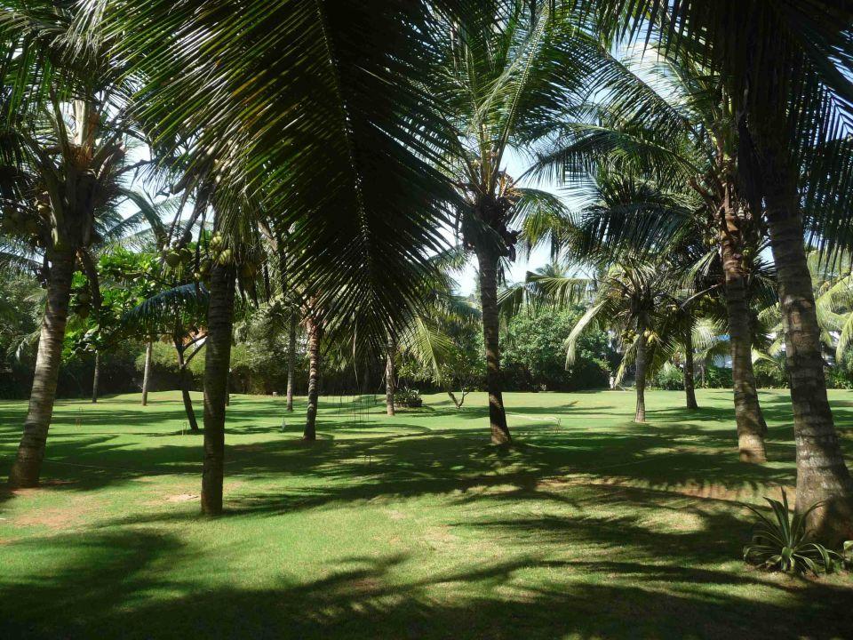Auf dem Weg vom Hotel zum Pool Hotel Vivanta by Taj Kovalam