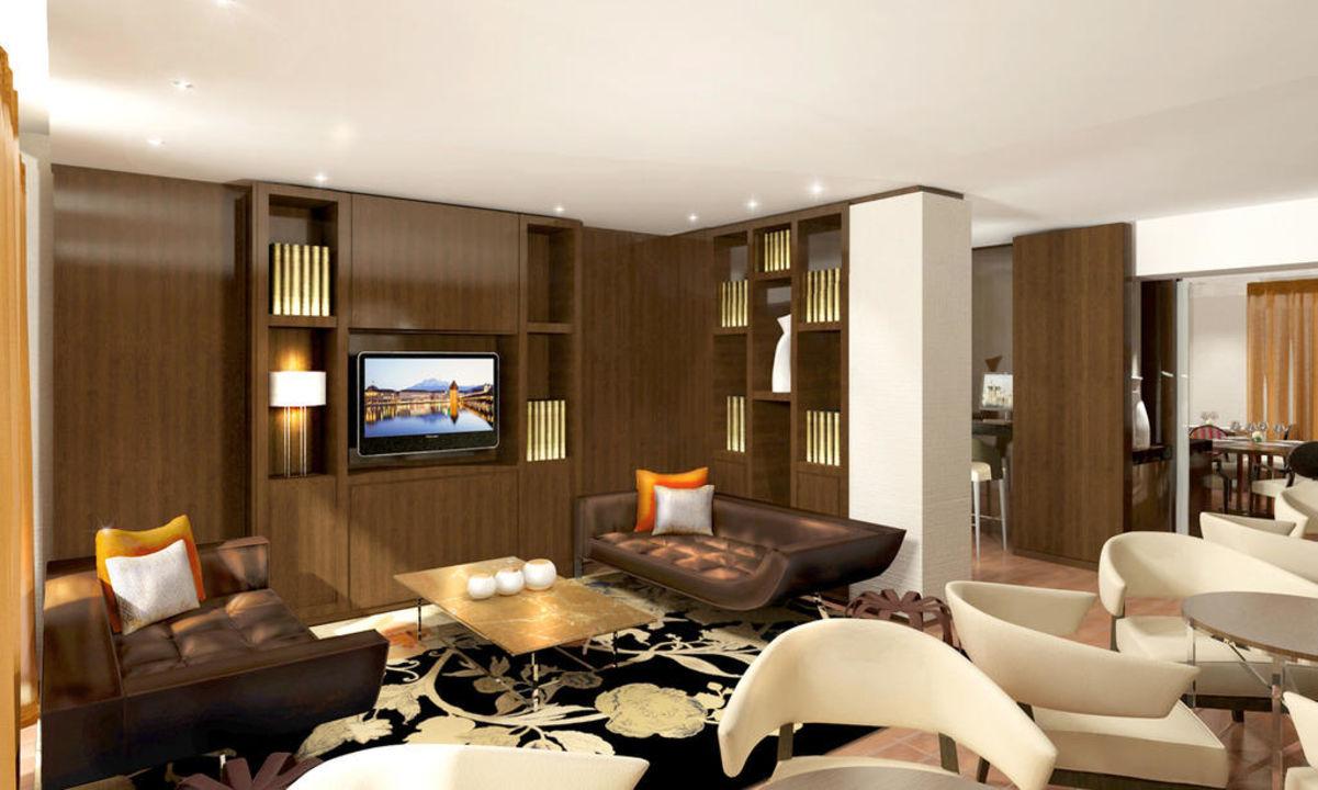 Renaissance Lucerne Hotel: Lounge Renaissance Lucerne Hotel