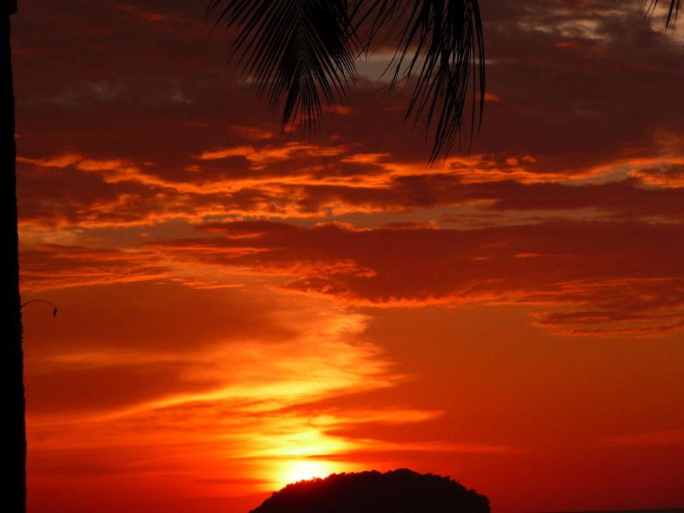 Sonnenuntergang Hotel Shangri-La Tanjung Aru Resort