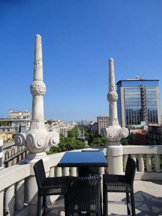 Ausblick vom Dach Hotel Casa Fuster