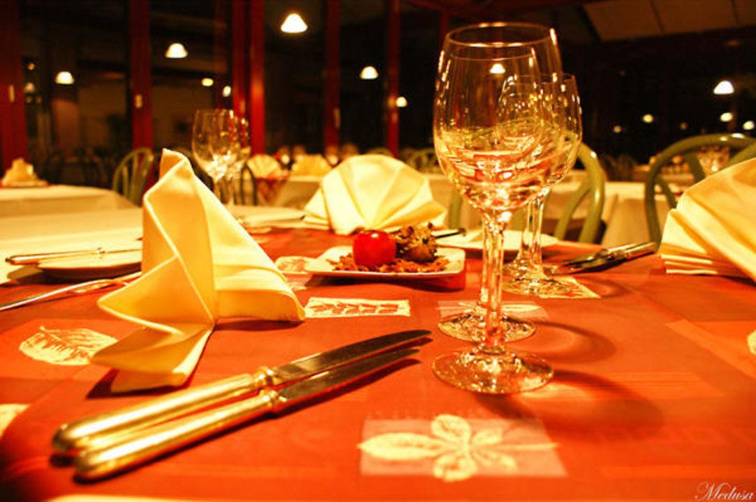 Blick ins Restaurant Hotel Kapplerhof