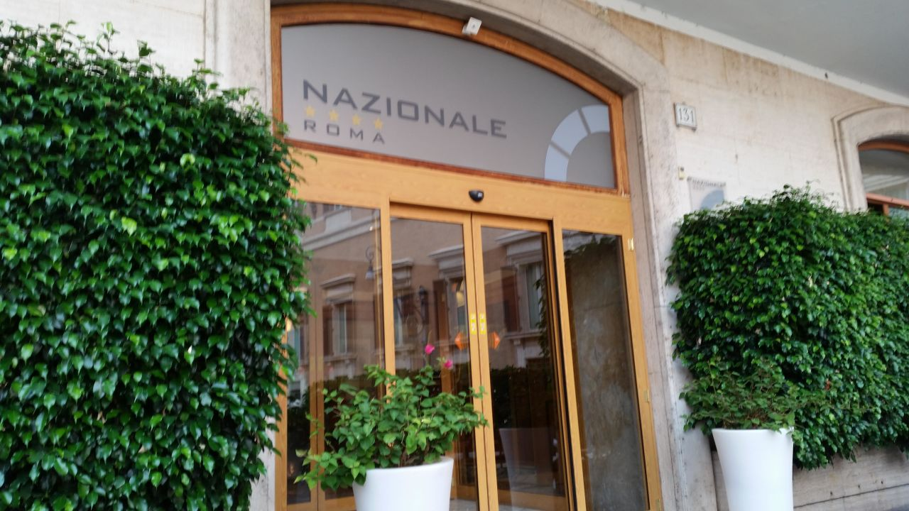 Eingang  Hotel Nazionale