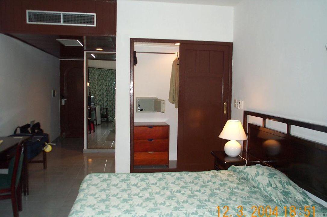 Blick ins Zimmer Villa Coral