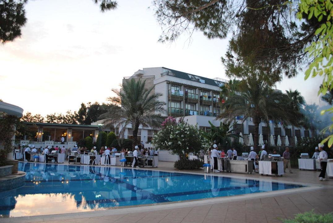 Abendbuffet und Hotel Hotel Oleander