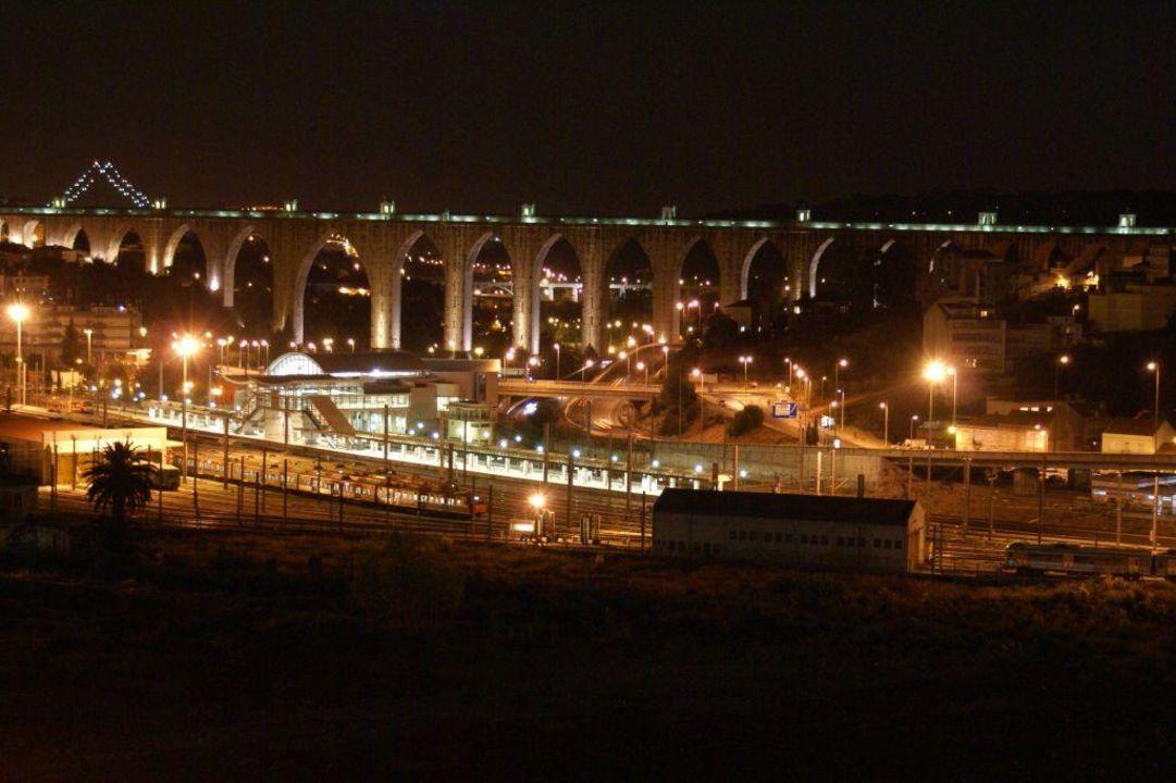 Akwedukty nocą Hotel Mercure Lisboa
