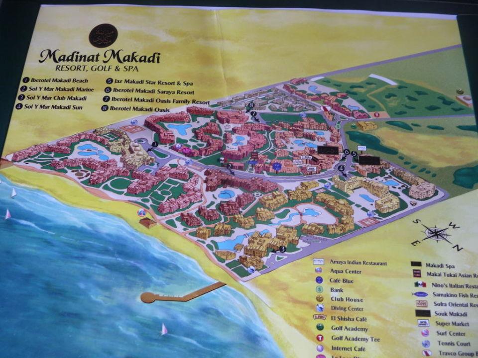 Makadi Bay Karte.Hotelverbund Karte Jaz Makadina Makadi Bay Holidaycheck