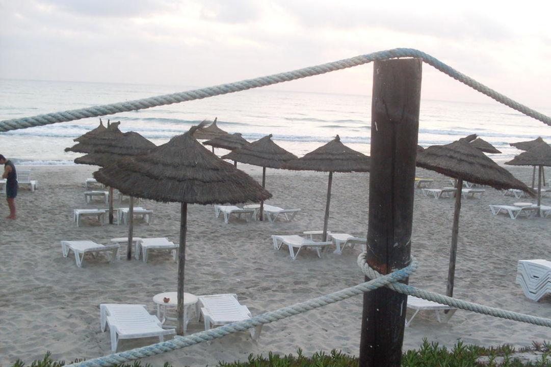 Ausblick von der Veranda Hotel Thalassa Mahdia