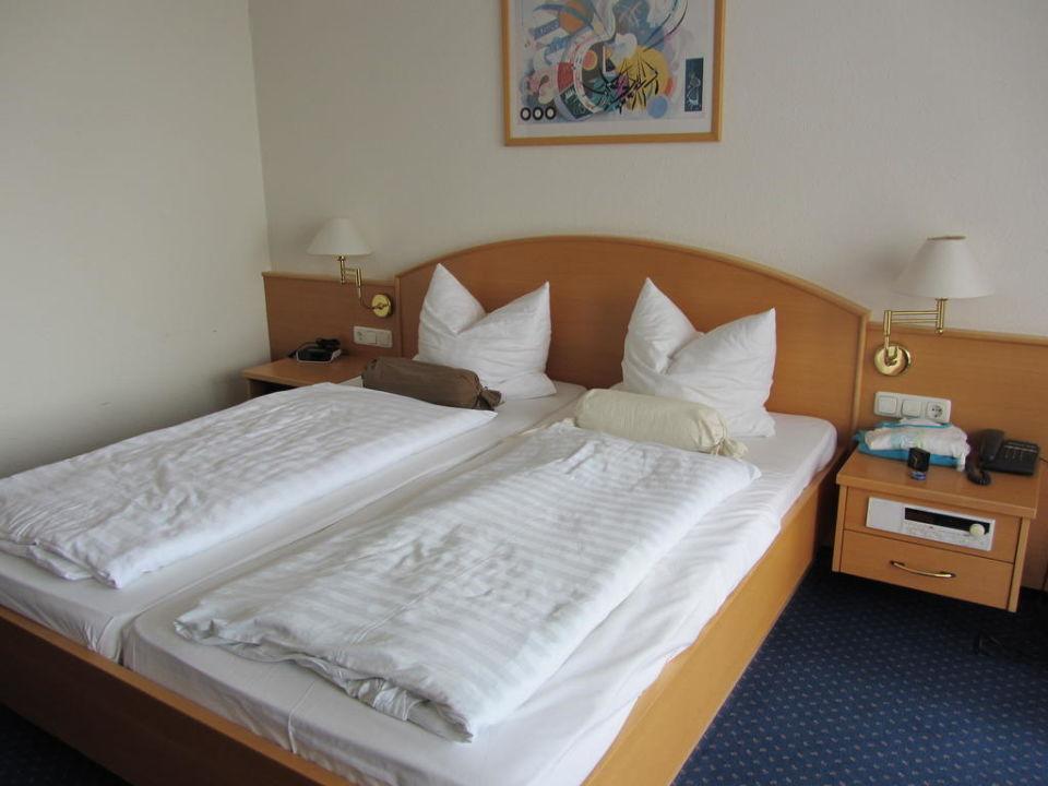 Das Bett Johannesbad Hotel Königshof