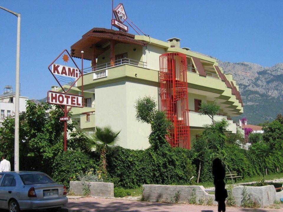 Blick von aussen 02 Hotel Kami