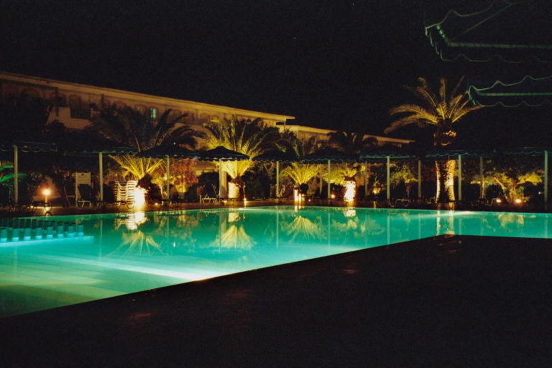 Mitsis Hotel Ramira Beach-Abendstimmung Mitsis Ramira Beach Hotel
