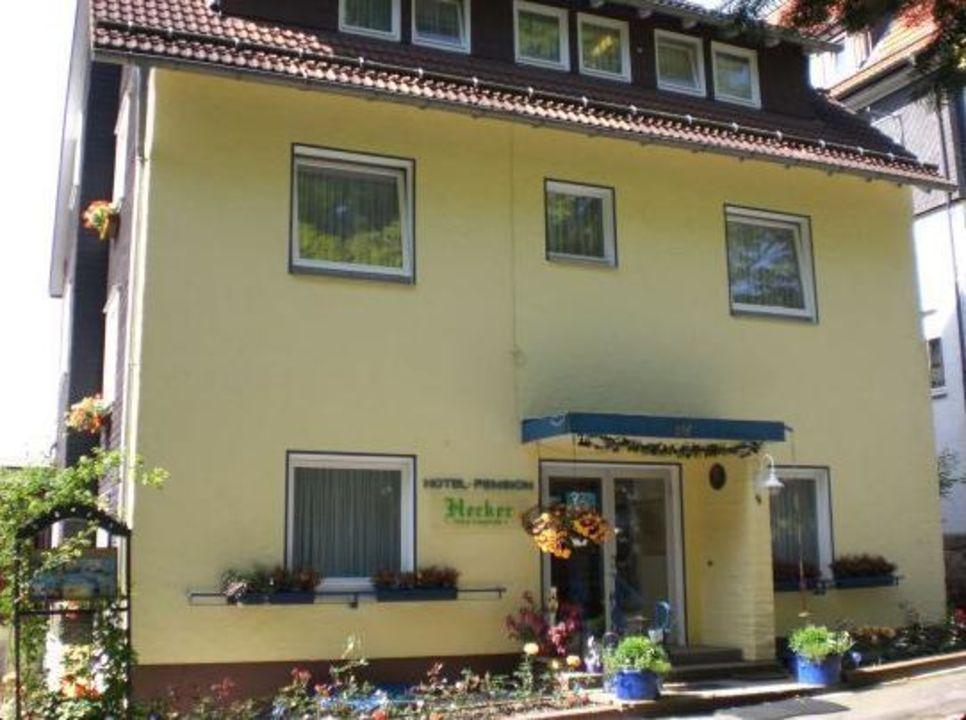 Hotel Hecker Außenansicht Hotel Hecker