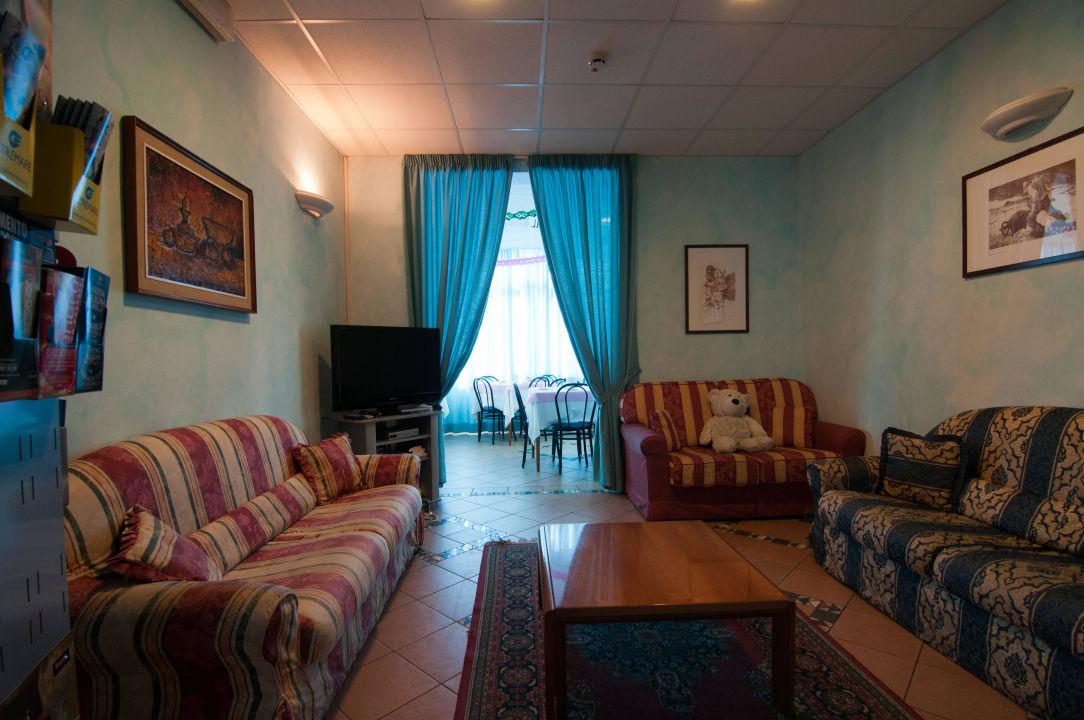 Sala tv-lounge Hotel Savina