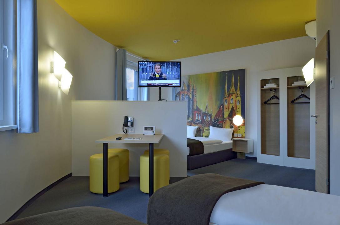 Familienzimmer B&B Hotel Erfurt