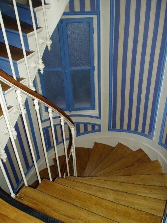 Treppenhaus des Hotels Hotel Maison du Pré