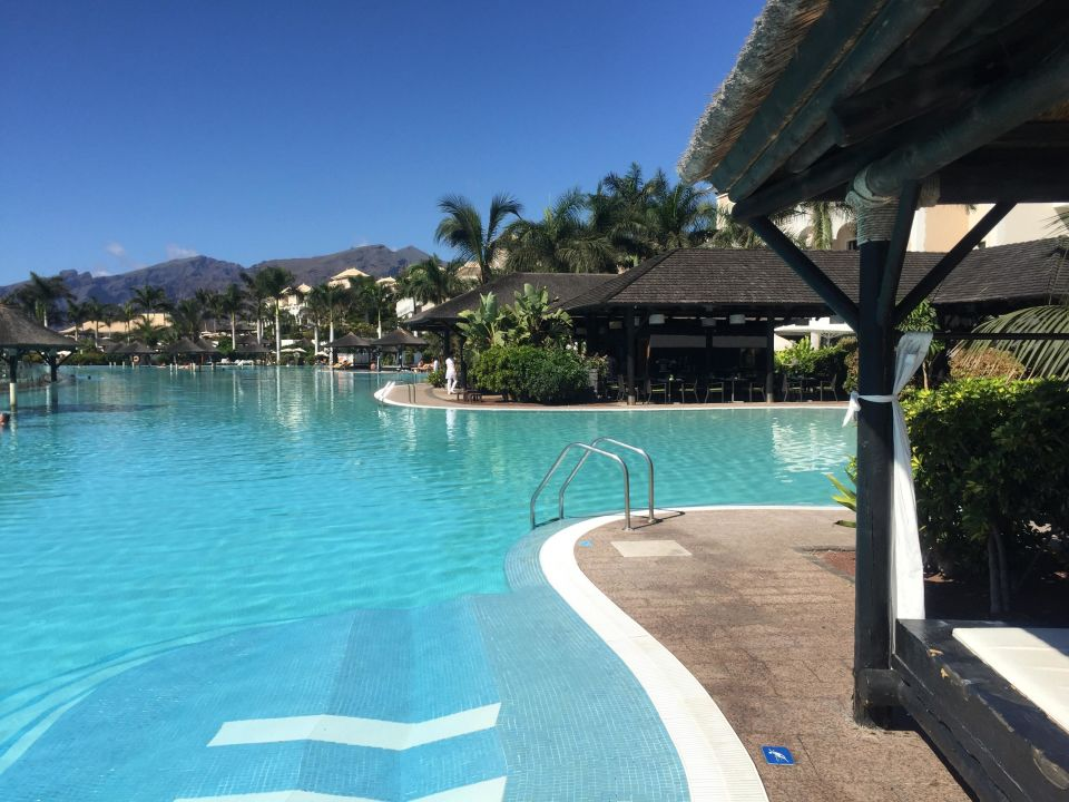 Salzwasser pool gran melia palacio de isora resort alcala holidaycheck teneriffa spanien - Pool salzwasser ...
