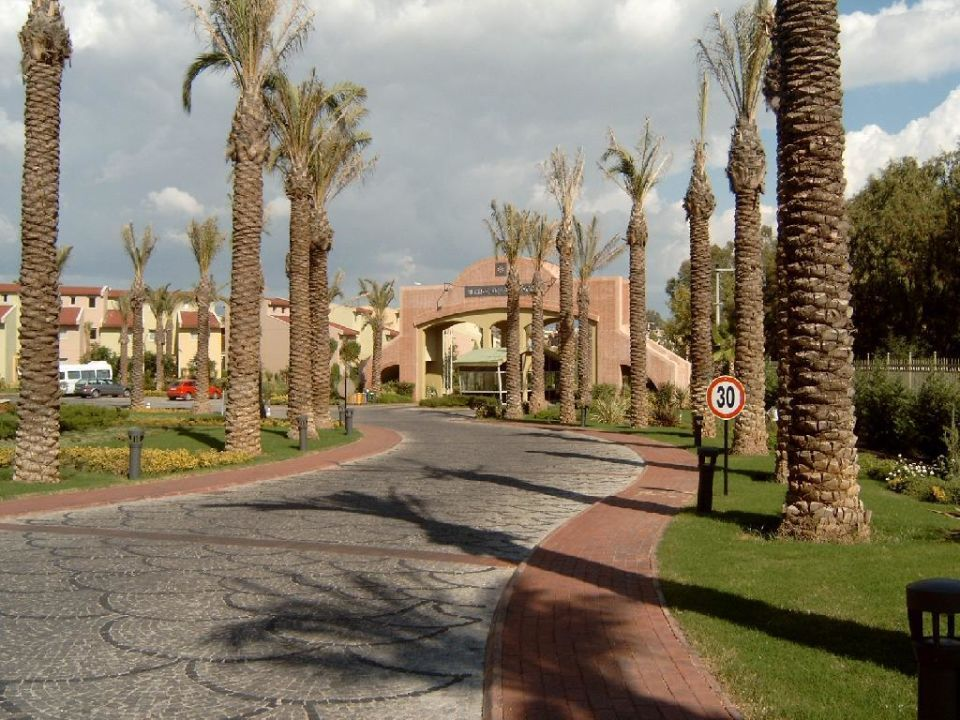Einfahrt Hotel Silence Beach Resort