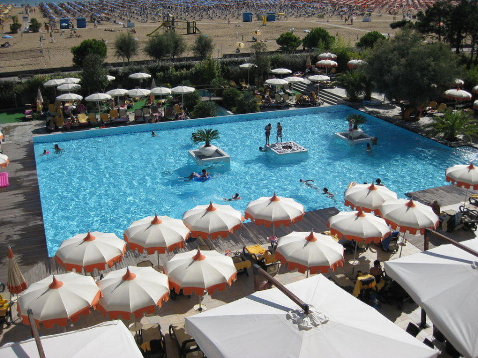 Pool  Bibione Palace