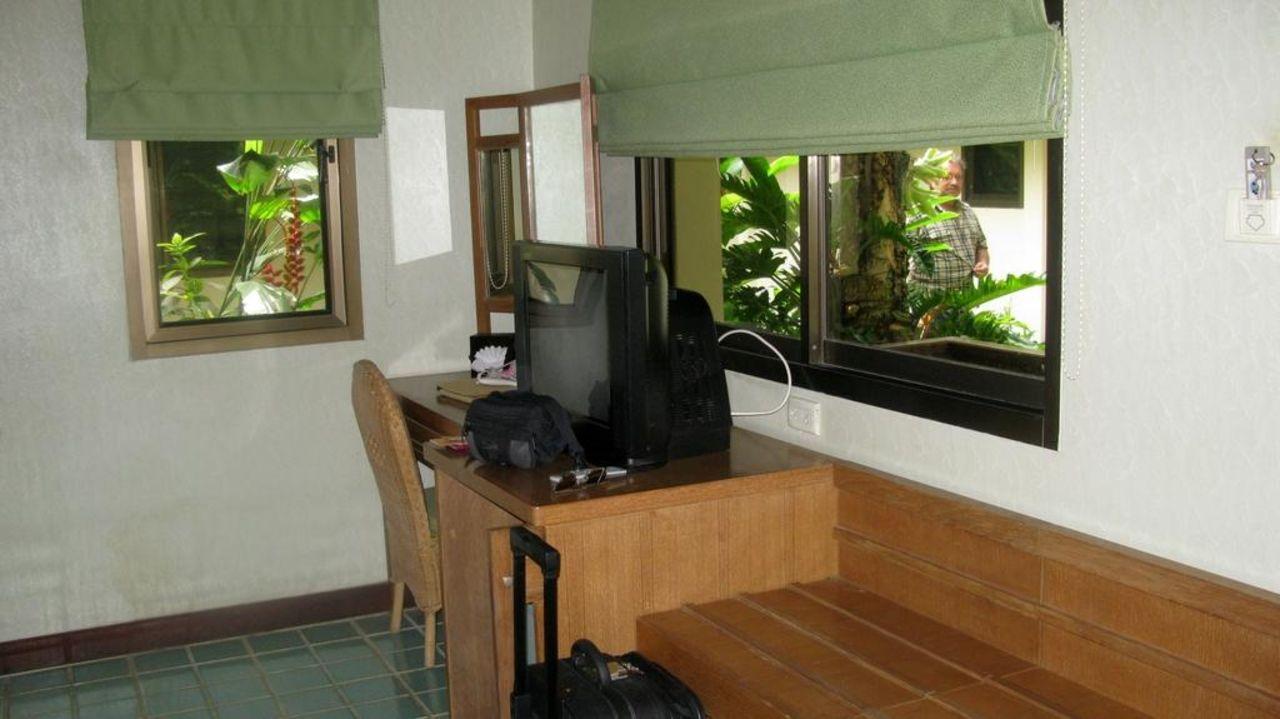 Fernseher und Minibar Samui Natien Resort