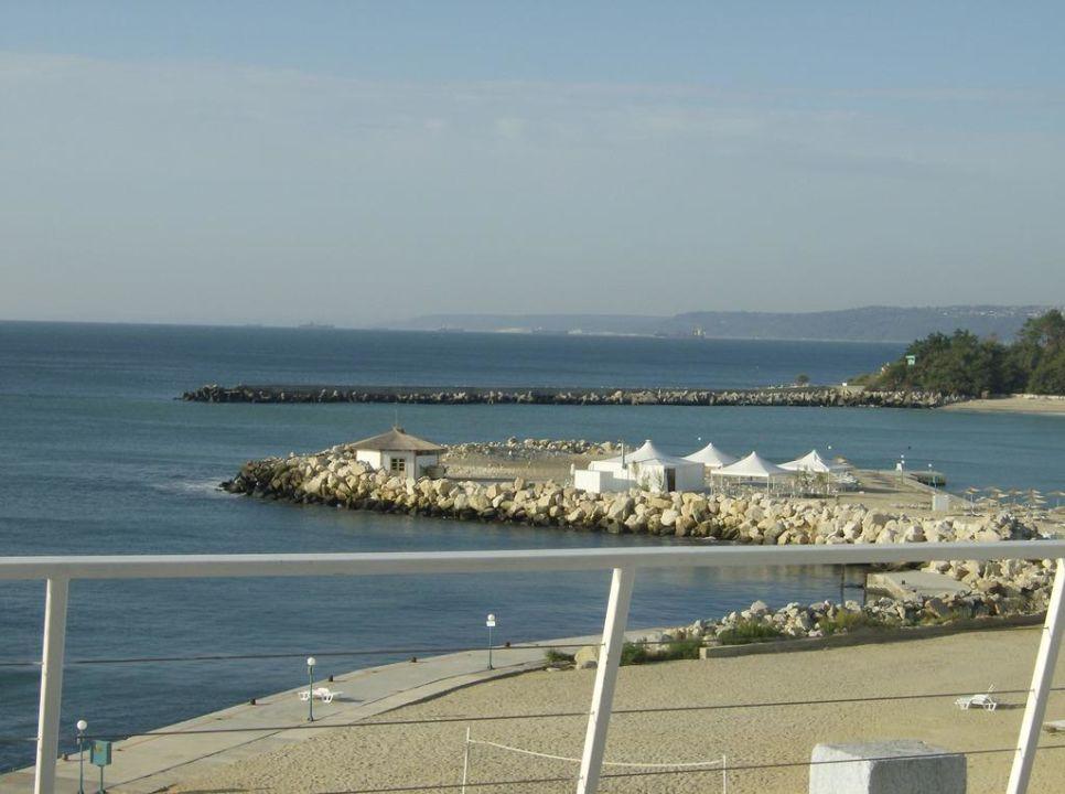Von der Terrasse Hotel Dolphin Marina