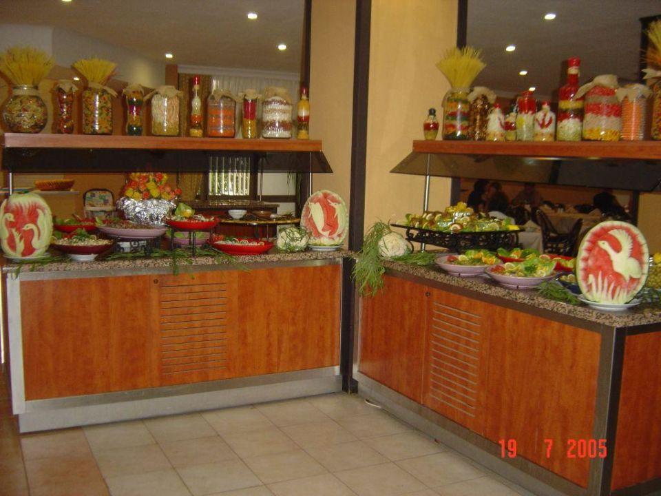 Salatbuffet Hotel Özkaymak Alaaddin