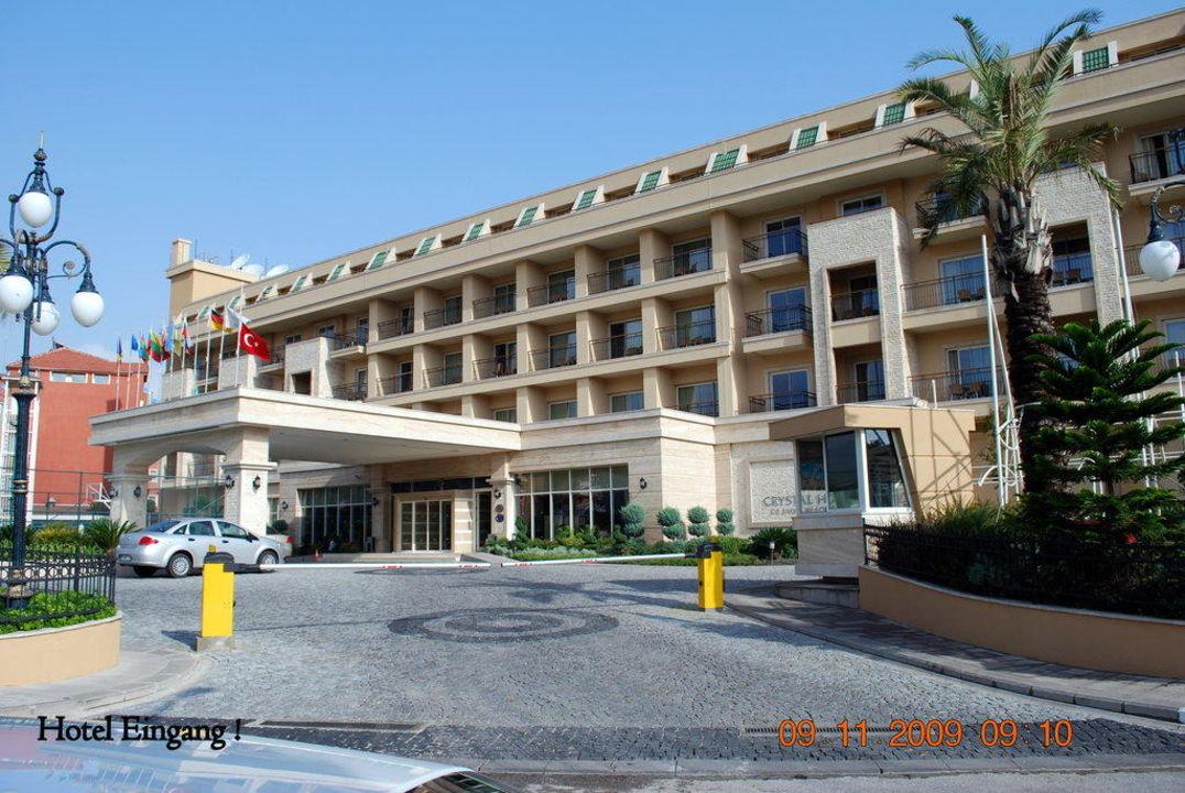 Haubteingang Crystal De Luxe Resort & Spa
