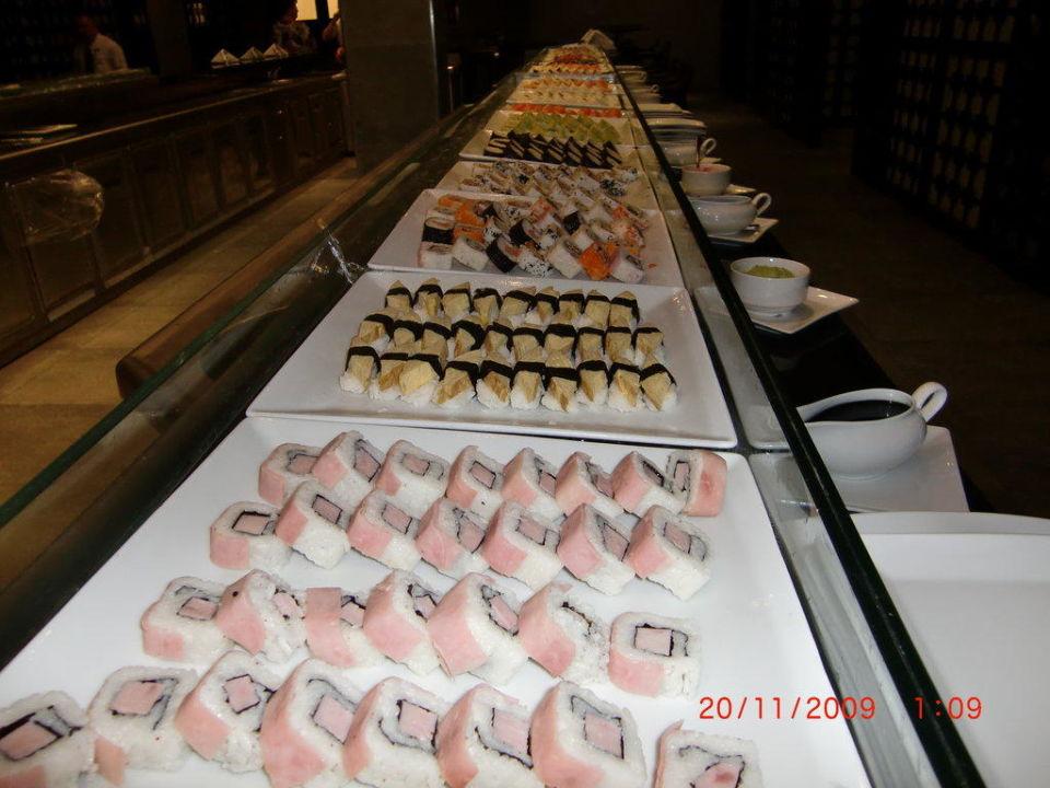 Sushiauswahl im Japanischen Restaurant Majestic Elegance Punta Cana Resort