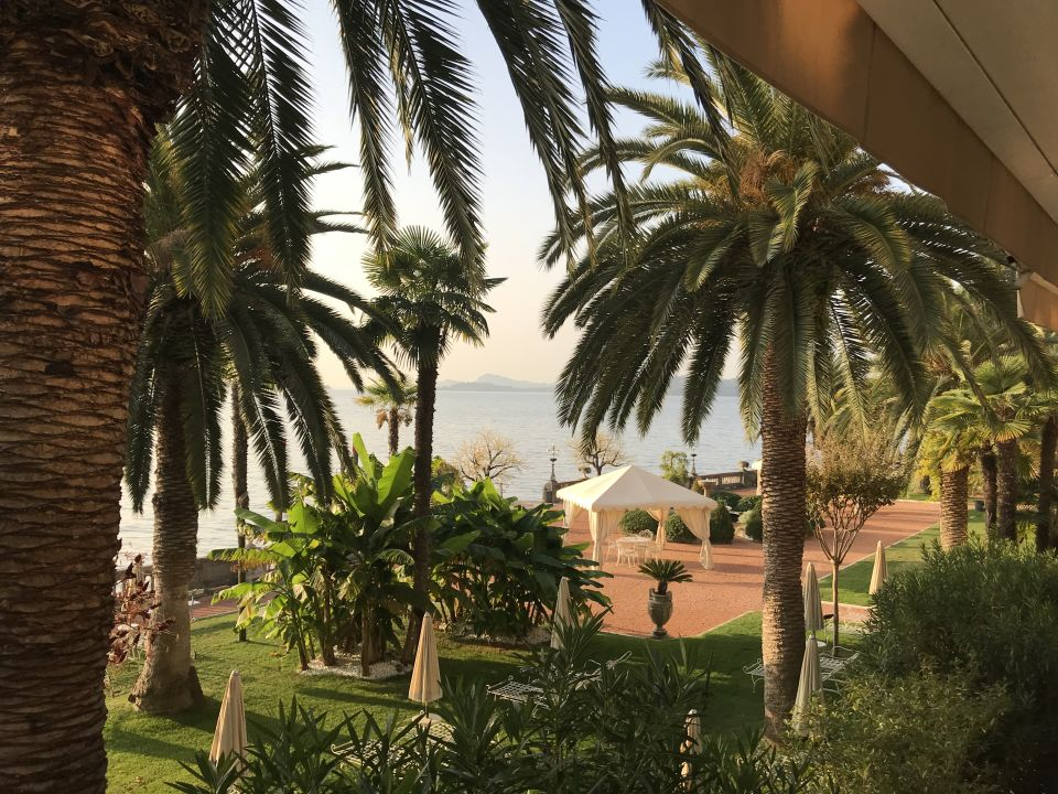 Gartenanlage Grand Hotel Fasano